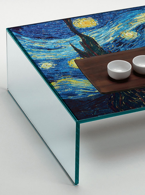 coffee table starry night youngerman